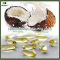 Compléments alimentaires santé pressée à froid l'huile de coco vierge pilules