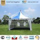 6x6m waterproof aluminum frame beach gazebo canopy tent for sale