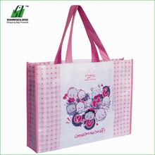 Elle handbags non woven carry bag machine non woven coffee bagbags woman handled non woven bag