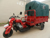 Rain Cover and Passenger Cargo 250cc Tricycle