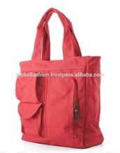 Wholesale canvas tote bags canvas-handbags-purses-canvas-tote-with-zipper Multipurpose tote bag