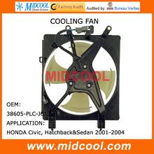 HIGH QUALITY RADIATOR COOLING FAN MOTOR FOR HONDA 38605PLCJ013