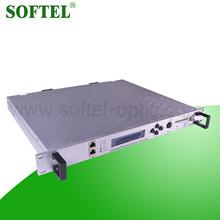 Softel fiber optique émetteur laser, Catv 1310 / 1550nm émetteur optique / optique émetteur et récepteur