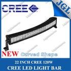 "22"" 120W LED bar light,4X4,Off road,curved led light bar tractor,UTV,ATV,Boat,led light bars"
