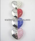 Promotional heart shape 16gb &32gb Jewelry usb flash drive