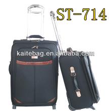 jacquard fabric popular design EVA luggage set for export