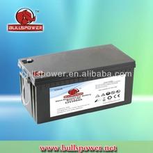12v 200ah solar powered gel battery for solar system /heater