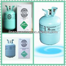 Refrigerator & automobile used R134a refrigerant gas