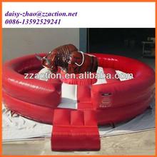 Bull riding machine hot sale inflatable mechanical bull