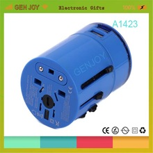 GENJOY 2014 3.0A, travel usb adapt LED LOGO Patented 5v 2.1a usb travel charger power adapter usb port