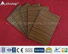 Hotel top roof wooden aluminium and plastic composite panel