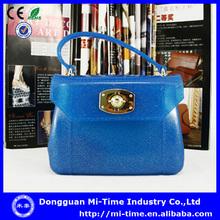 Fashion 2014 girls mini pvc handbag trade shows