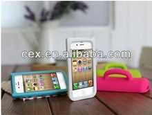 3D cup design with hand holder case for iphone5