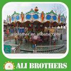 CE/SONCAP Certificate amusement park games exciting adult electric carousel