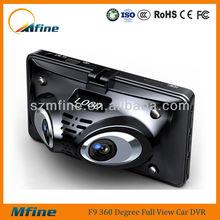 HD 1080p four camera car dvr ,H.264, video codecs,360 degree viewing angle