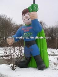 inflatable cartoon Cattle/ custom inflatable animal toy /custom inflatable boy
