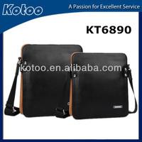 2014 new design genuine leather casual men's bag