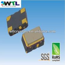 WTL ocsillator 5.0*3.2mm SMD 4pads quartz crystal oscillator smd 5032 crystal resonators 6.555MHz SMD resonator xtal.