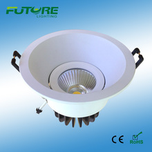 high power led 7w,9w COB downlight with light diffusion materials