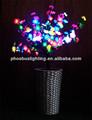 führte dekorative künstliche blume mit licht
