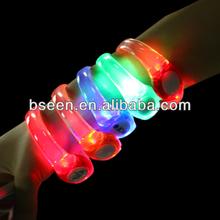 2014 new party favor sound activated led bracelet