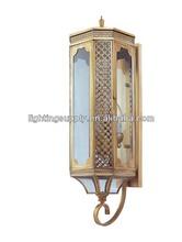 best seller outdoor brass wall lighting