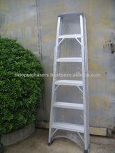 Fiberglass & Aluminum Ladder
