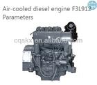 industrial construction DEUTZ F3L912 engine 30hp 3 cylinders
