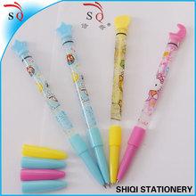 Novelty bubble children toy pen