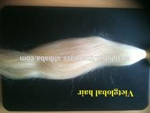 platinum blonde human hair bulk