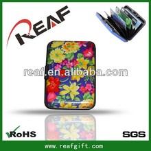 Fashionable best sell id cc bi-fold card wallet tan