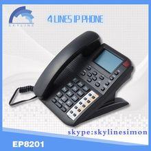 4 lines wifi phone ip sip phonewifi sip desk phone