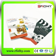 18years experience rewritable customized id/ic card with/without mango