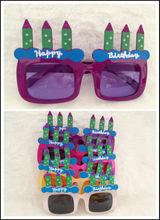 simple cake-shape party sunglasses(LT008)