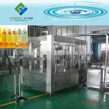 Automatic PET Bottle Juice Filling Factory / Fruit Juice Making Machine