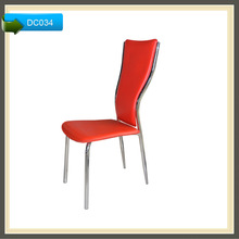 outdoor leather kitchen furniture modern high back dining chair