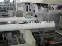 Auto spigot socket pipe machine