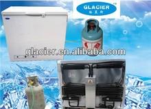 200L Propane Gas LP Gas /12V Deep Chest Freezer