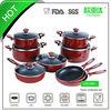 15pcs cooking pots and pans