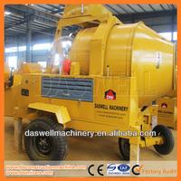 350l hydraulic portable concrete mixing machine