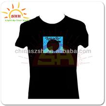 LED Fashion Flashing EL T-Shirt