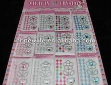 scrapbook stickers /diamond sticker for scrapbook, code LM1006-10