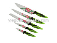 Non-stick colorful stainless steel chinese kitchen knife