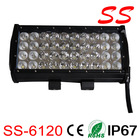 Quad row 120W Cree offroad led driving light bar for truck ,vehicles ss-6120
