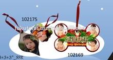 Sublimation MDF Christmas Decoration Ornament