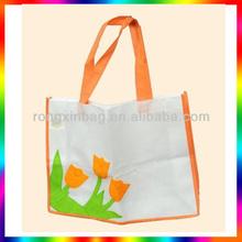 Hot selling bulk reusable non woven 6 bottle wine tote bag