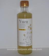 Yuzu citrus vinegar drink is perfect for soft drinks