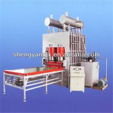 mdf short cycle hot press machine/laminated wood press machine/short cycle melamine paper laminating hot press machine