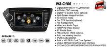 WITSON KIA K2 car dvd with gps bluetooth tv