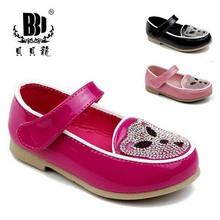 Tsc5092 Anhui usine vente sur alibaba mode coréenne pour enfants simples chaussures monde meilleur belle princesse filles chaussures 2014